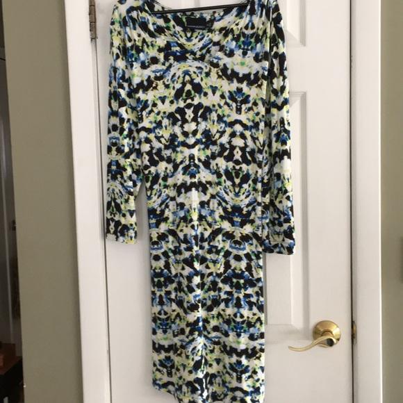 Cynthia Rowley Dresses & Skirts - CYNTHIA ROWLEY WATERCOLORS DRESS XL